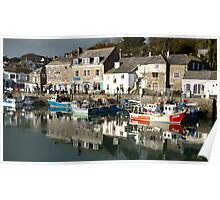 Padstow Harbour Poster