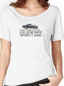 """Night Rider - """"The Toecutter..."""" Women's Relaxed Fit T-Shirt"""