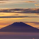 Pink volcano by Naomi Brooks