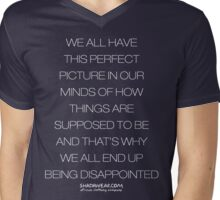 Disappointed Mens V-Neck T-Shirt