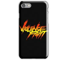 Violence Fight iPhone Case/Skin