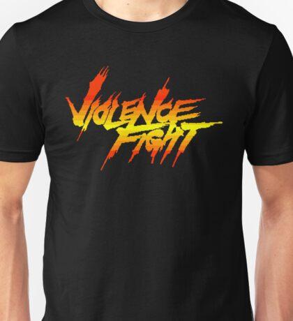 Violence Fight - Arcade Title Screen Unisex T-Shirt