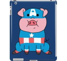 Captain Ameripig Waddles iPad Case/Skin