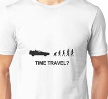 Time travel and evolution Unisex T-Shirt