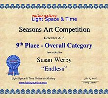 9th Place-Seasons Competiton-Endless by Susan Werby