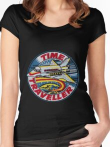 Time Traveller Women's Fitted Scoop T-Shirt