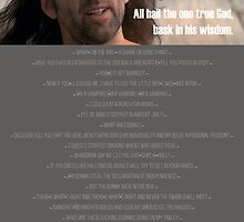 One True God, Nic Cage by SnakeSkin