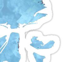 Blue Chrystal Heisenberg Sticker