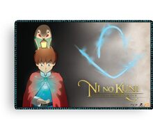 Ni No Kuni - Give Heart Canvas Print