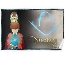 Ni No Kuni - Give Heart Poster