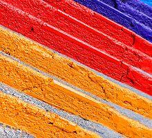 Colorful stairs by Dobromir Dobrinov