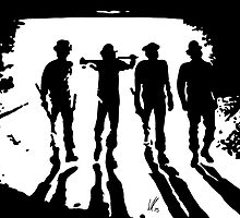 A Clockwork Orange silhouettes by vknight1989