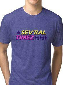 Sev'ral Timez! [Gravity Falls] Tri-blend T-Shirt