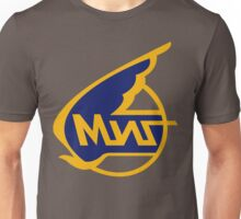 Mikoyan-Gurevich (Russian Aircraft Corporation MiG) Logo Unisex T-Shirt