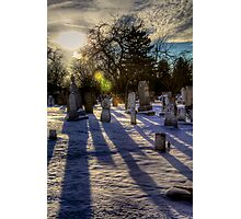 Icy Death Photographic Print