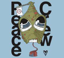 Peace Crew Tim Kids Tee One Piece - Short Sleeve