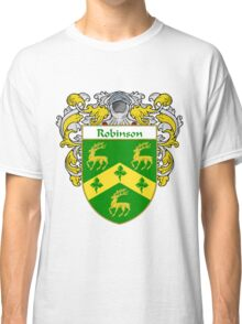 Robinson Coat of Arms / Robinson Family Crest Classic T-Shirt