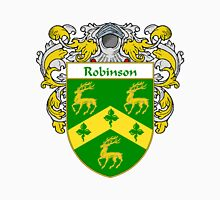 Robinson Coat of Arms / Robinson Family Crest Unisex T-Shirt