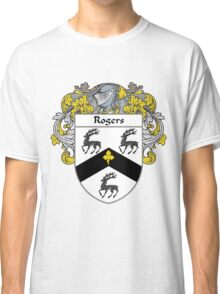 Rogers Coat of Arms / Rogers Family Crest Classic T-Shirt