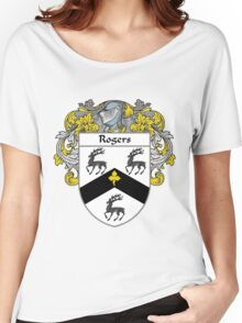 Rogers Coat of Arms / Rogers Family Crest Women's Relaxed Fit T-Shirt