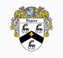 Rogers Coat of Arms / Rogers Family Crest Unisex T-Shirt