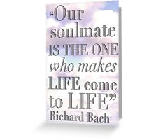 Soulmate Greeting Card
