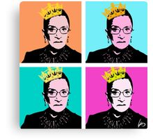 The Notorious RBG Canvas Print