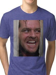 Here's Johnny! Tri-blend T-Shirt