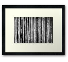 Natural Wood Framed Print