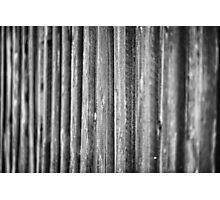 Natural Wood Photographic Print