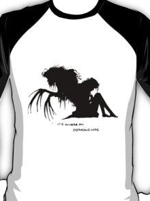 Where my demons hide T-Shirt