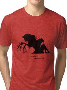 Where my demons hide Tri-blend T-Shirt