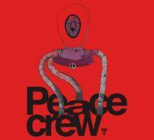 Peace Crew Sal Kids Tee One Piece - Long Sleeve