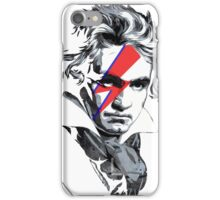 Beethoven David Bowie face paint iPhone Case/Skin