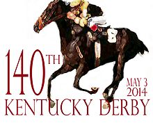 Kentucky Derby 2014 by Ginny Luttrell