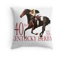 Kentucky Derby 2014 Throw Pillow