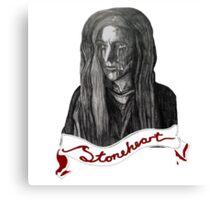 STONEHEART Canvas Print