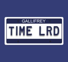 Time Lrd License Plate by lindseyyo