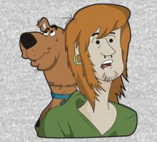 ALTERNATIVE SHAGGY AND SCOOBY by CelsoPelegrini