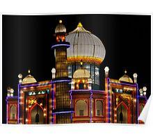 Silk Taj Mahal Poster