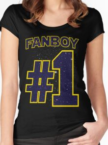Fanboy #1 Women's Fitted Scoop T-Shirt