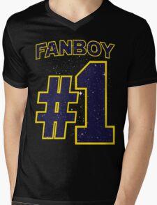 Fanboy #1 Mens V-Neck T-Shirt