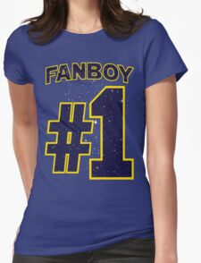 Fanboy #1 Womens Fitted T-Shirt