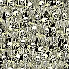 Candid Skeletons by trinityery