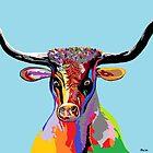 Texas Longhorn by EloiseArt