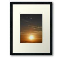 ©TSS The Sun Series V Framed Print