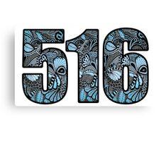516 Doodle Canvas Print
