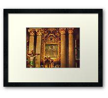 ©MS Altar IA Framed Print