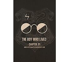 The Boy Who Lived - Harry Potter Photographic Print