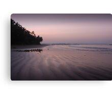A Serene Sunset Canvas Print